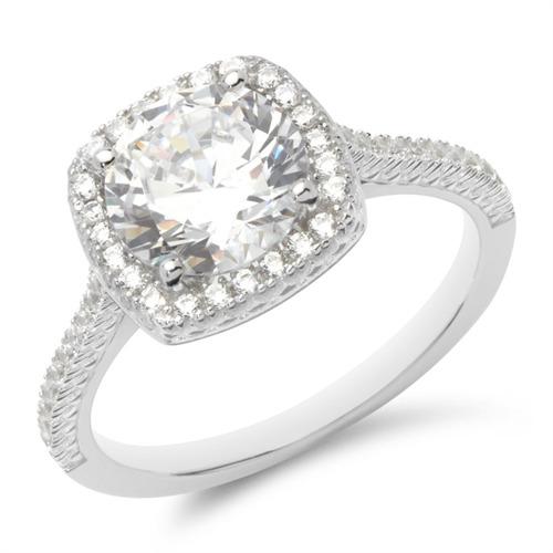 Zásnubný prsteň - strieborný 0a607d9aedd